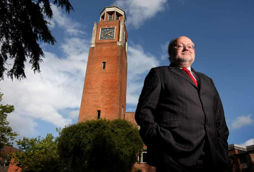 Steve Smith, the vice-chancellor of the University of Exeter