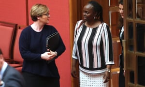 Lucy Gichuhi and Linda Reynolds