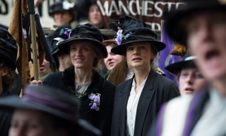 A scene from the movie Suffragette, which is being screened at the Whitworth Art Gallery in March.