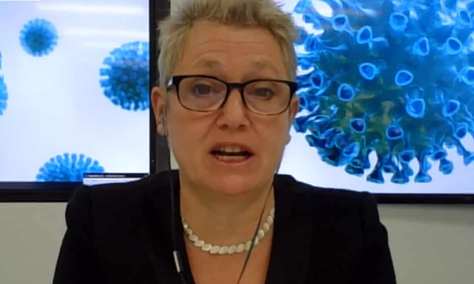 Kate Bingham, chair of the UK vaccine taskforce, was appointed by Boris Johnson in July.