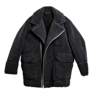wooly teddy coat