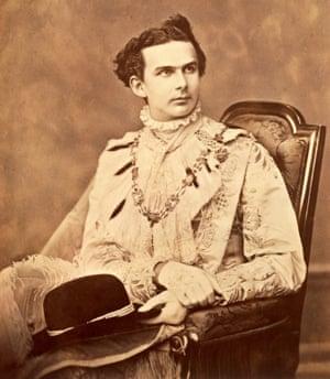 King of bling: Ludwig II of Bavaria.