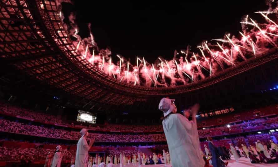 Controlled showmanship … the Tokyo opening ceremony was a meditative three hours.
