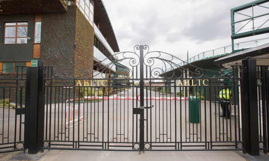 There will be no play at Wimbledon this year following the All England Lawn Tennis Club's decision to cancel the championships in response to the coronavirus pandemic.