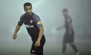 Wissam Ben Yedder was Sevilla's hero on a misty night.