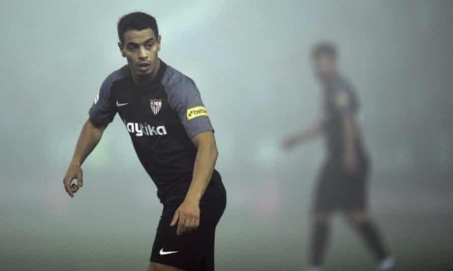 Wissam Ben Yedder was Sevilla's hero on a misty night.