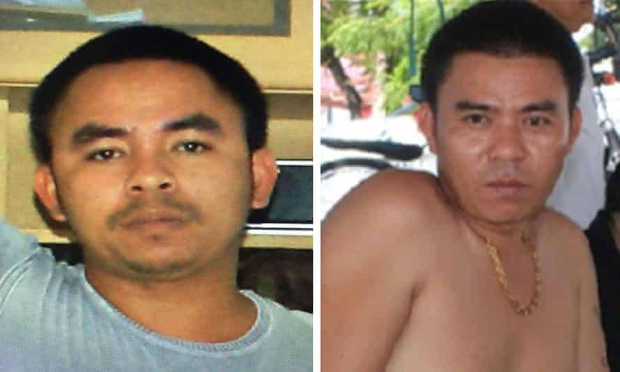 Bach Mai aka 'Boonchai' (left) and his brother Bach Van Limh are key players who control the smuggling gateway from Thailand into Laos.