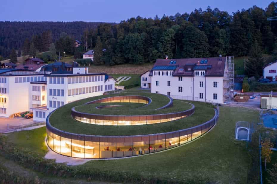 The Musée Atelier Audemars Piguet in Switzerland, designed by Bjarke Ingels.