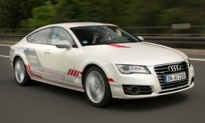 Look No Hands On The Autobahn In Audis Driverless Car - Audi driverless car