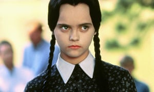 Christina Ricci as Wednesday Addams in Addams Family Values, 1993.