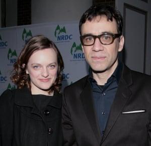 Elisabeth Mpss and Fred Armisen