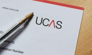 Ucas university application form