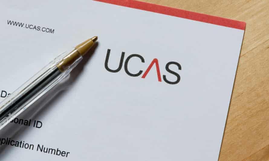 A Ucas application