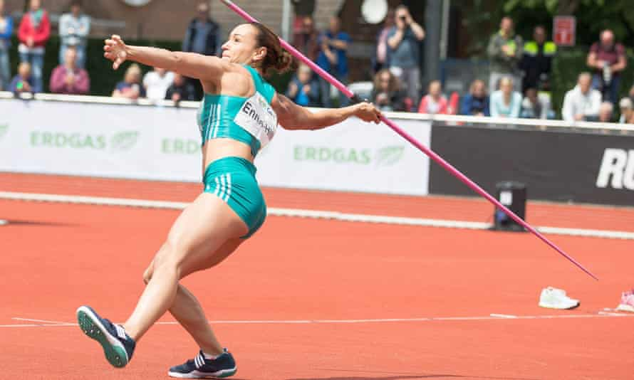 Jessica Ennis-Hill at the Combined Events Challenge in Germany