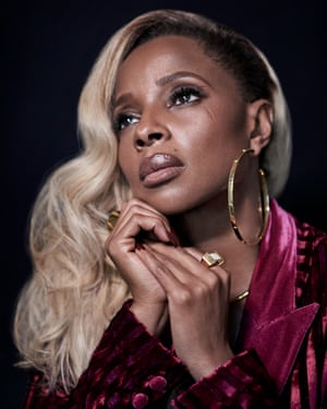 R&B singer turned actor, Mary J Blige, photographed at Mandarin Oriental in New York