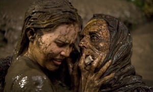Shock horror … Alison Lohman and Lorna Raver in Drag Me to Hell.