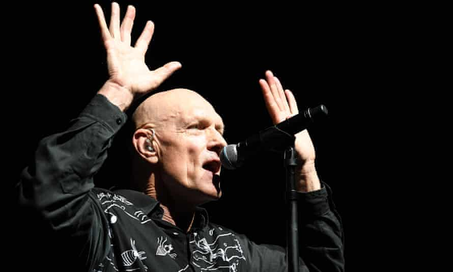 Midnight Oil frontman Peter Garrett: 'Real peace means reaching a lasting settlement with the First Nations people of this country.'