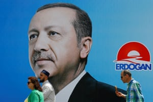 By creating notional national enemies, Erdoğan wins votes, or at least he thinks he does.