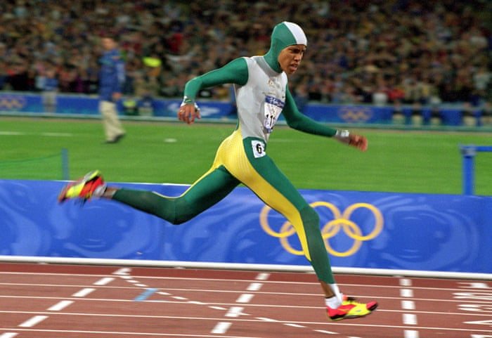 I watched Cathy Freeman win gold at the Sydney Olympics. That moment still inspires me today | Anita Heiss | Television & radio | The Guardian