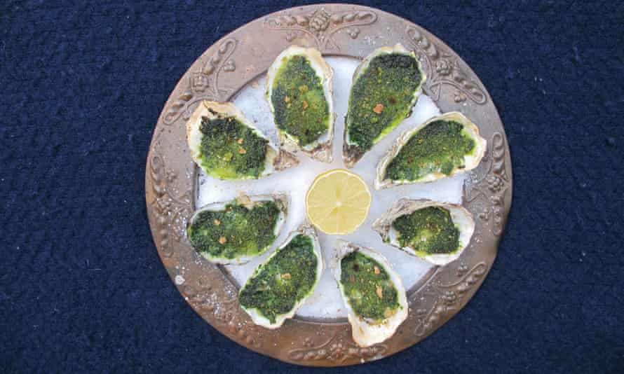 Felicity Cloake's perfect Oysters Rockefeller.