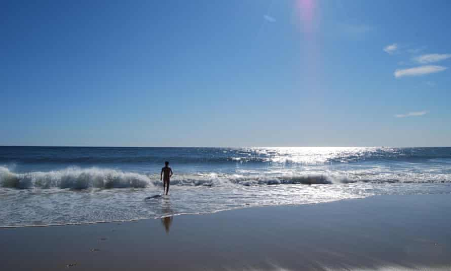 Philip Hoare swims every day if he can … at Ballston Beach, Truro, Massachusetts