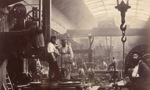 The shipbuilding and engineering workshop of the Thames Iron Works
