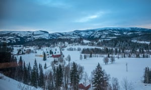 Train trip from Trondheim to Bodo, Norway, across the Arctic Circle.
