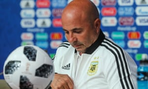 Jorge Sampaoli has been subject to intense criticism over Argentina's first two performances in Russia.