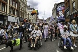 London, UK. Attendees of this years Trans Pride rally marched from Hyde Park to Soho Square as spirits remained high
