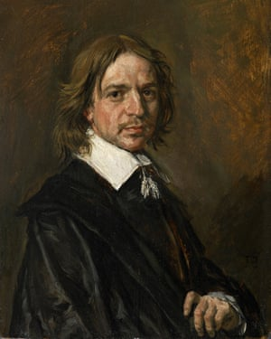 Frans Hals Portrait of a Gentleman
