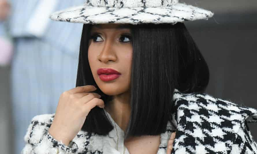 Cardi B said: 'There's no candidate people are saying we love, we want them to win.'