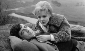 Alan Bates and June Ritchie in A Kind of Loving.