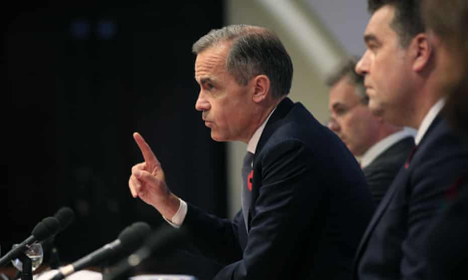 Mark Carney, the governor of the Bank of England, in 2015.