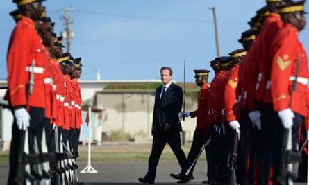 David Cameron in Jamaica spoke of Britain's pride in its role in abolishing the slave trade.