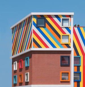 A school in Efeler district, Aydin  by Turkish architect photographer Yener Torun.