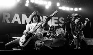 The Ramones, who inspired flute player Rhys Chatham to write his Guitar Trio