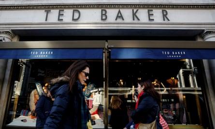 The Ted Baker shop on London's Regent Street.