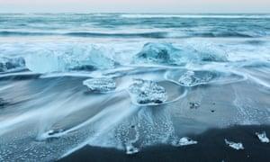 Iceberg beach Iceland