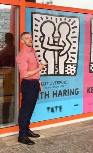 'I wanted to look the business: cool, effortless but funky as well' … Russell Tovey at the Tate Liverpool.