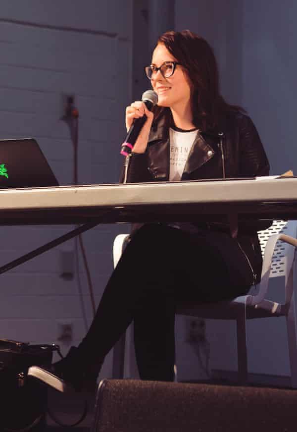 Games developer Ally McLean.