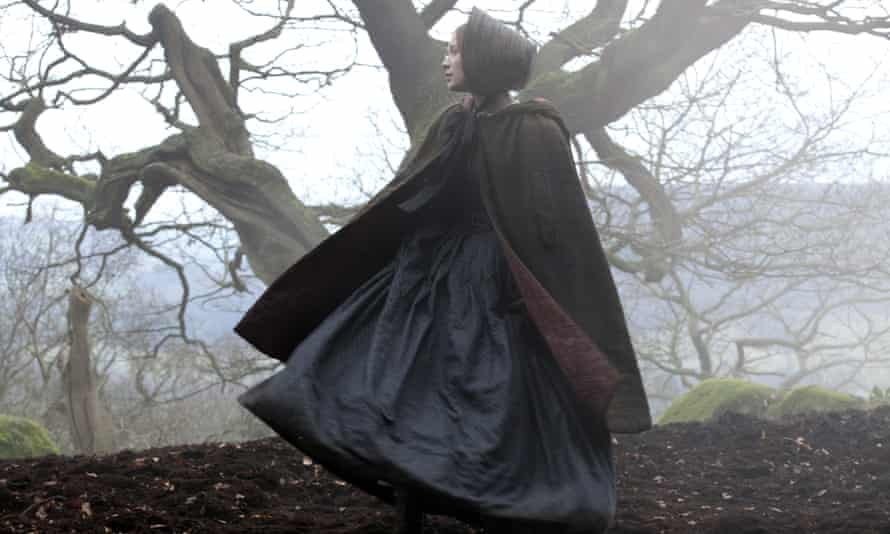 Mia Wasikowska in the 2011 film adaptation of Charlotte Brontë's Jane Eyre.