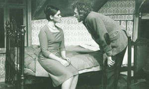 Alan Dossor and Angela Philips in Look Back in Anger at the Everyman in the early 1970s, which Dossor also directed.