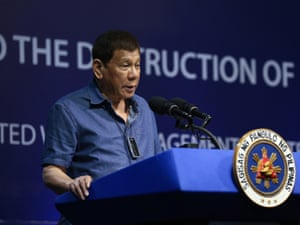 President Rodrigo Duterte in a handout photo made available by the Presidential Photographers Division (PPD) on 03 December 2020.