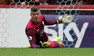 Fraser Forster must improve for his club to have any change of becoming No1 for his country.