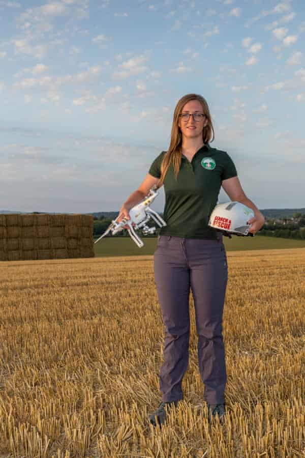 Gemma Alcock who uses drones for search and rescue.