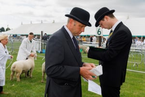 Stewards at the Lincolnshire Show.