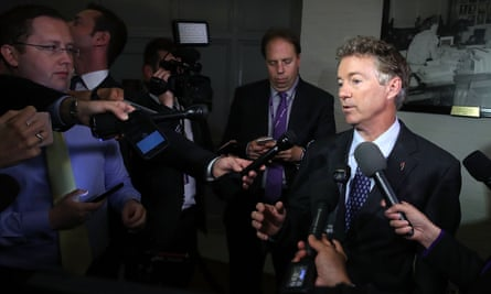 Rand Paul said: 'The current bill does not repeal Obamacare. I will oppose it coming to the floor in its current form, but I remain open to negotiations.'