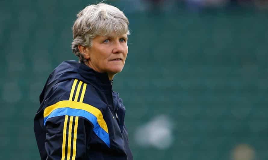 Pia Sundhage was a formidable player before taking up her coaching career