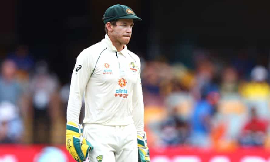 Australia's captain Tim Paine