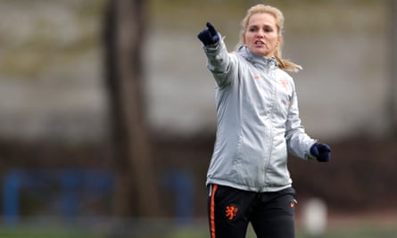 Netherlands coach Sarina Wiegman is favoured to succeed Phil Neville.